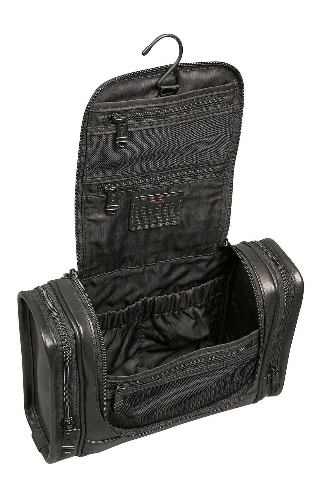 Alternate Image 2  - Tumi 'Alpha' Hanging Leather Travel Kit