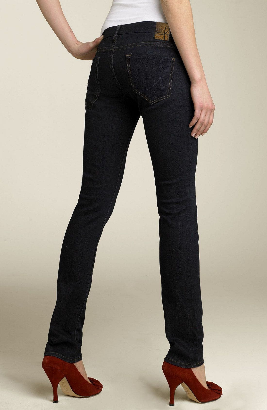 Alternate Image 2  - !iT Collective 'Rising Starlet' Skinny Stretch Jeans (Juniors)