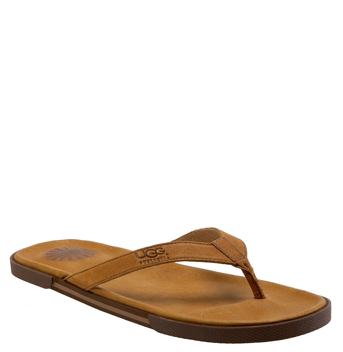 Alternate Image 1 Selected - UGG® Australia 'Bennison' Flip Flop (Men)