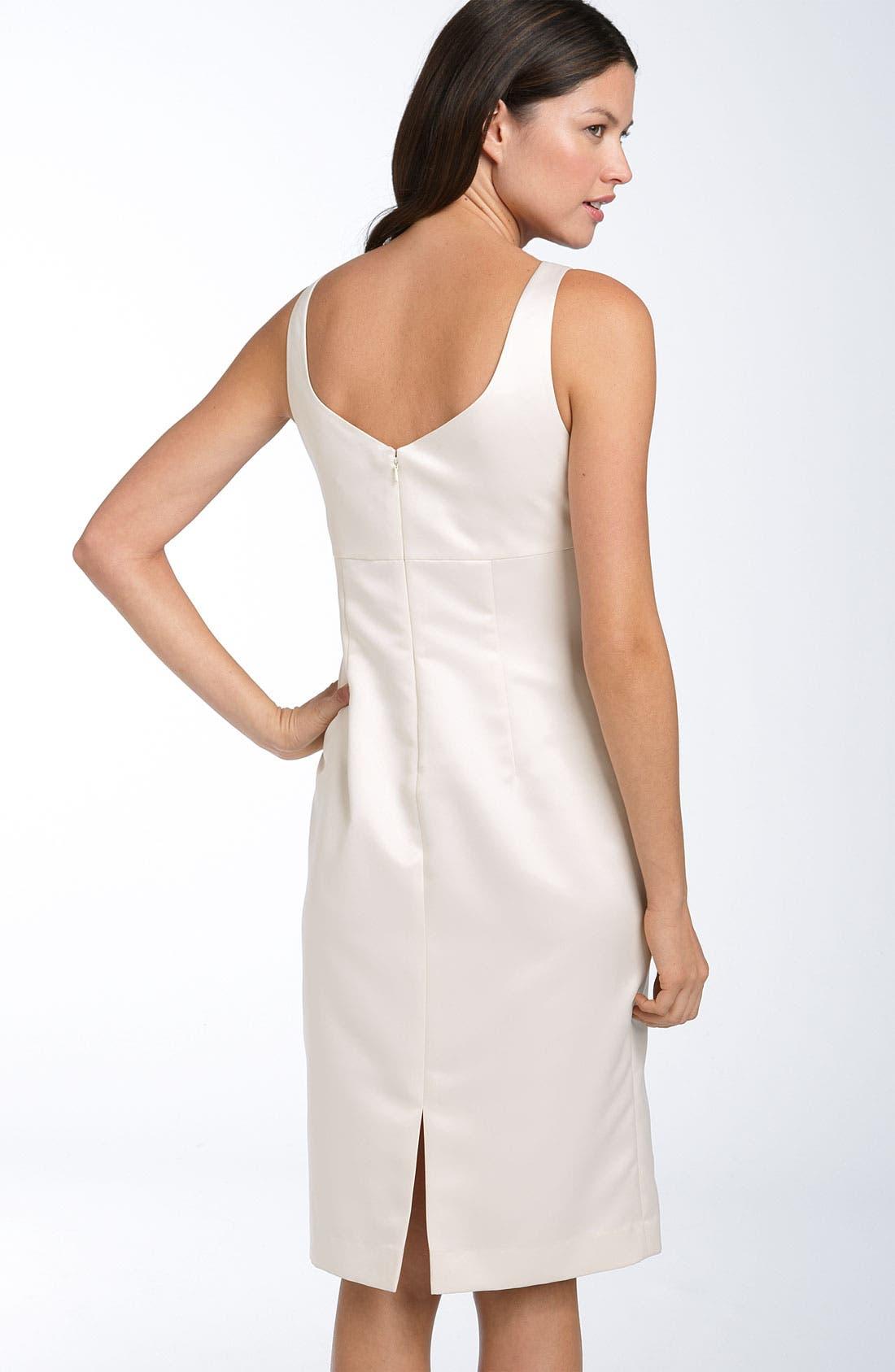 Alternate Image 3  - Adrianna Papell Sheath Dress with Jacquard Jacket
