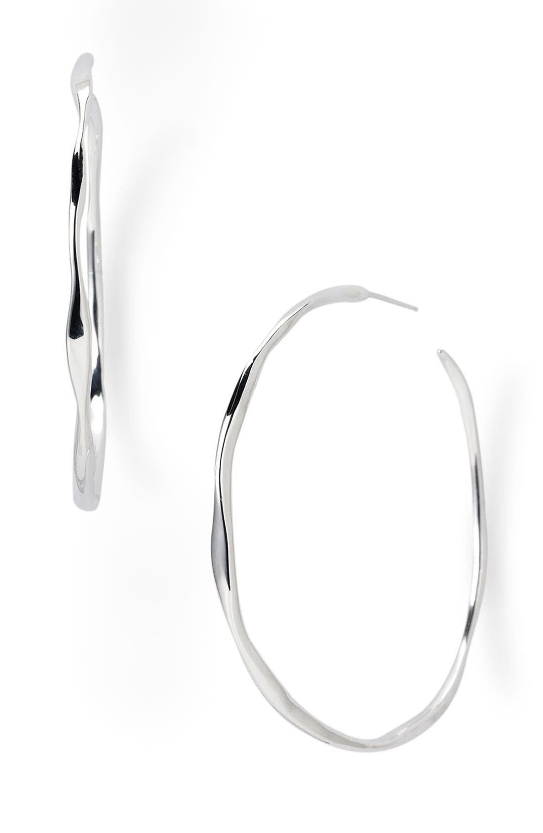 Alternate Image 1 Selected - Ippolita Sterling Silver Hoop Earrings