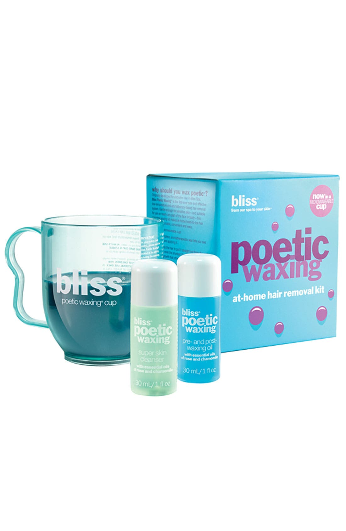 Alternate Image 1 Selected - bliss® 'Poetic Waxing' At-Home Hair Removal Kit