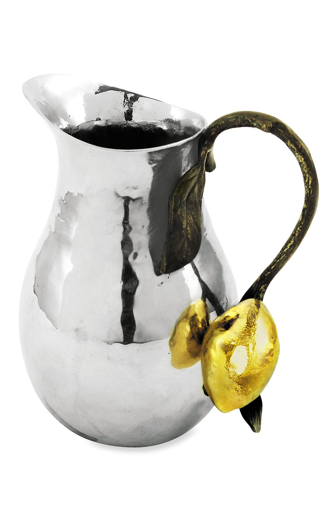 'Lemonwood' Mini Pitcher,                             Main thumbnail 1, color,                             Stainless Steel