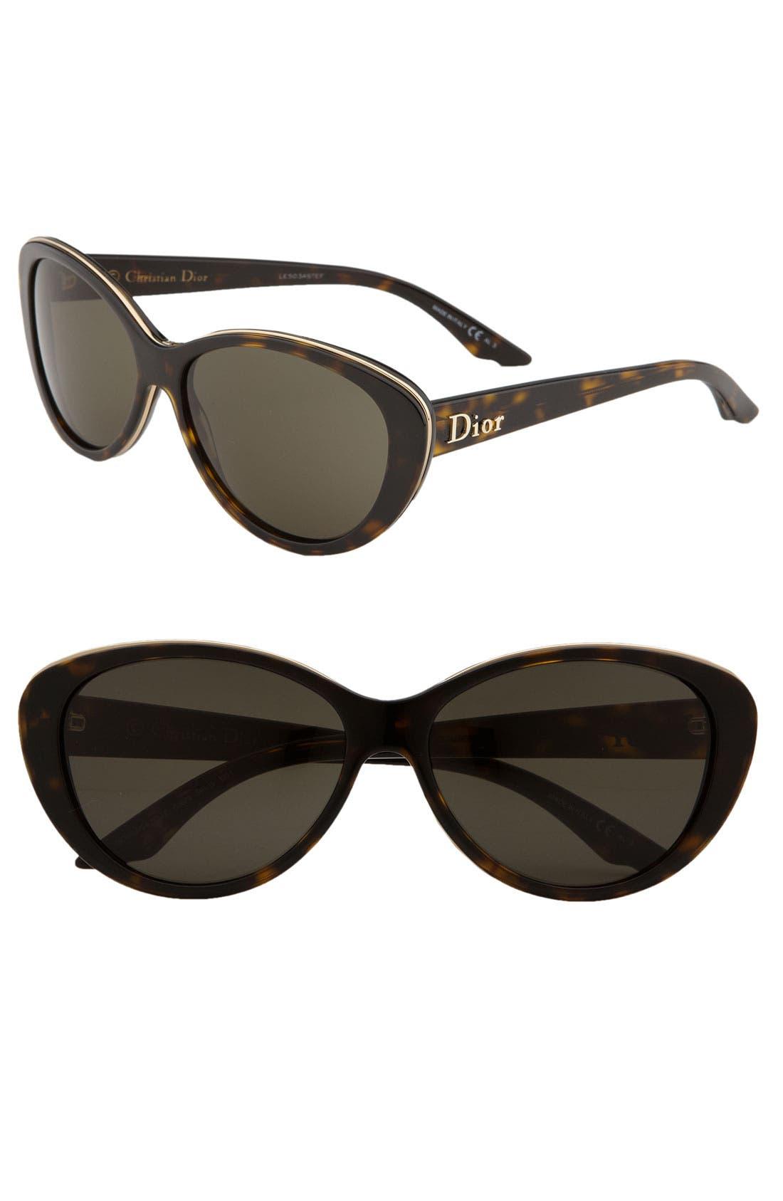 Alternate Image 1 Selected - Dior 'Bagatelle' Retro Inspired Sunglasses