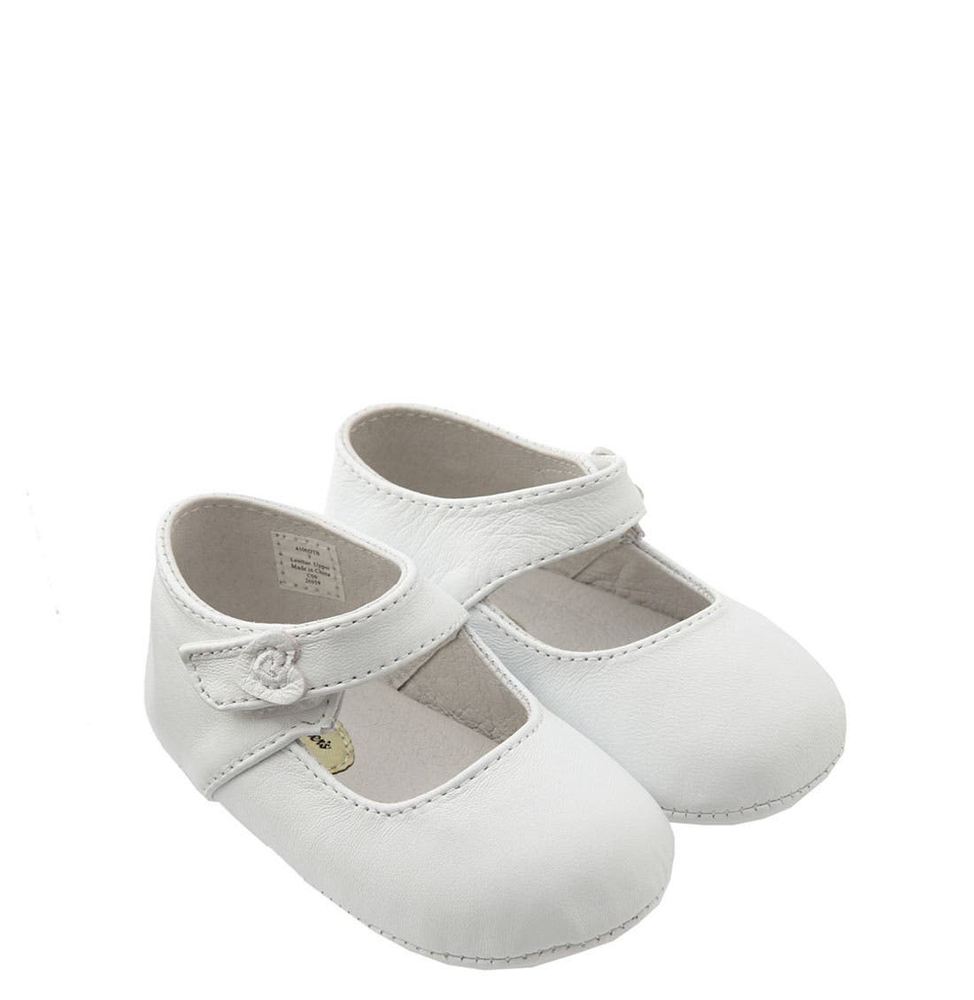 Alternate Image 1 Selected - Designer's Touch 'Hartlee' Crib Shoe (Baby)