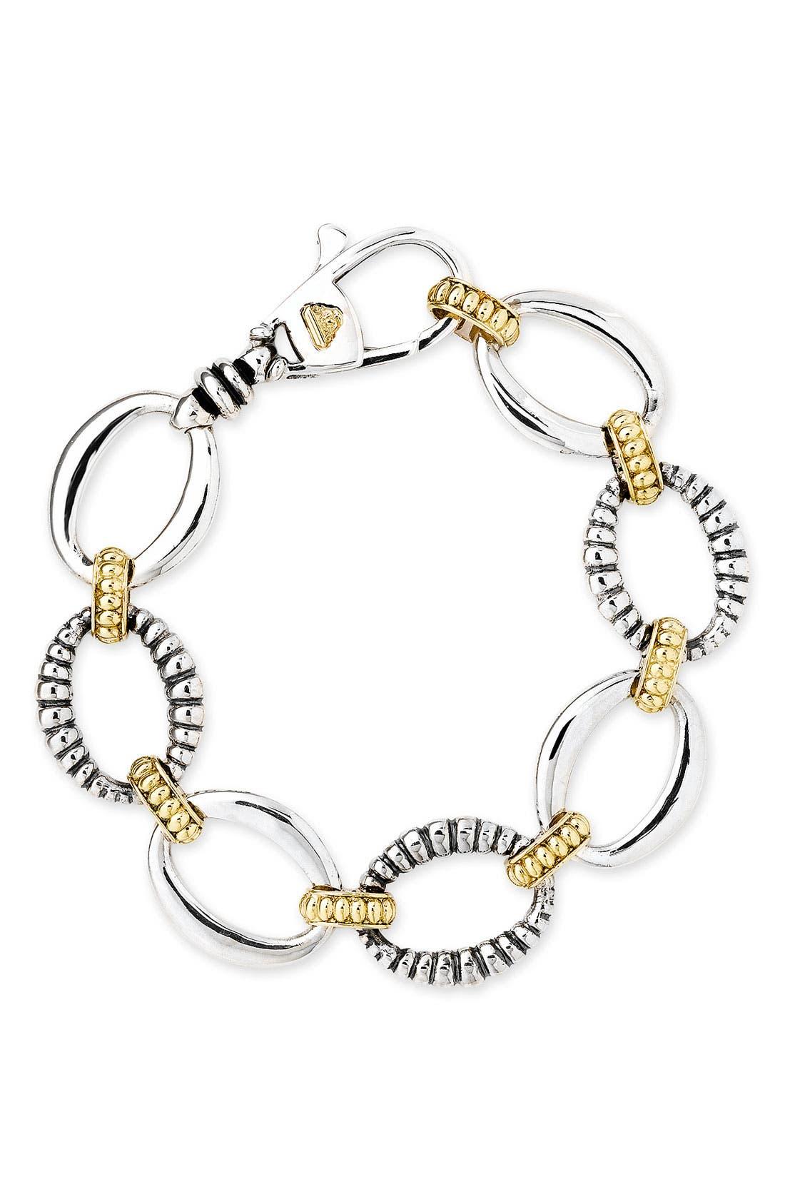 Main Image - LAGOS 'Link' 2-Tone Bracelet