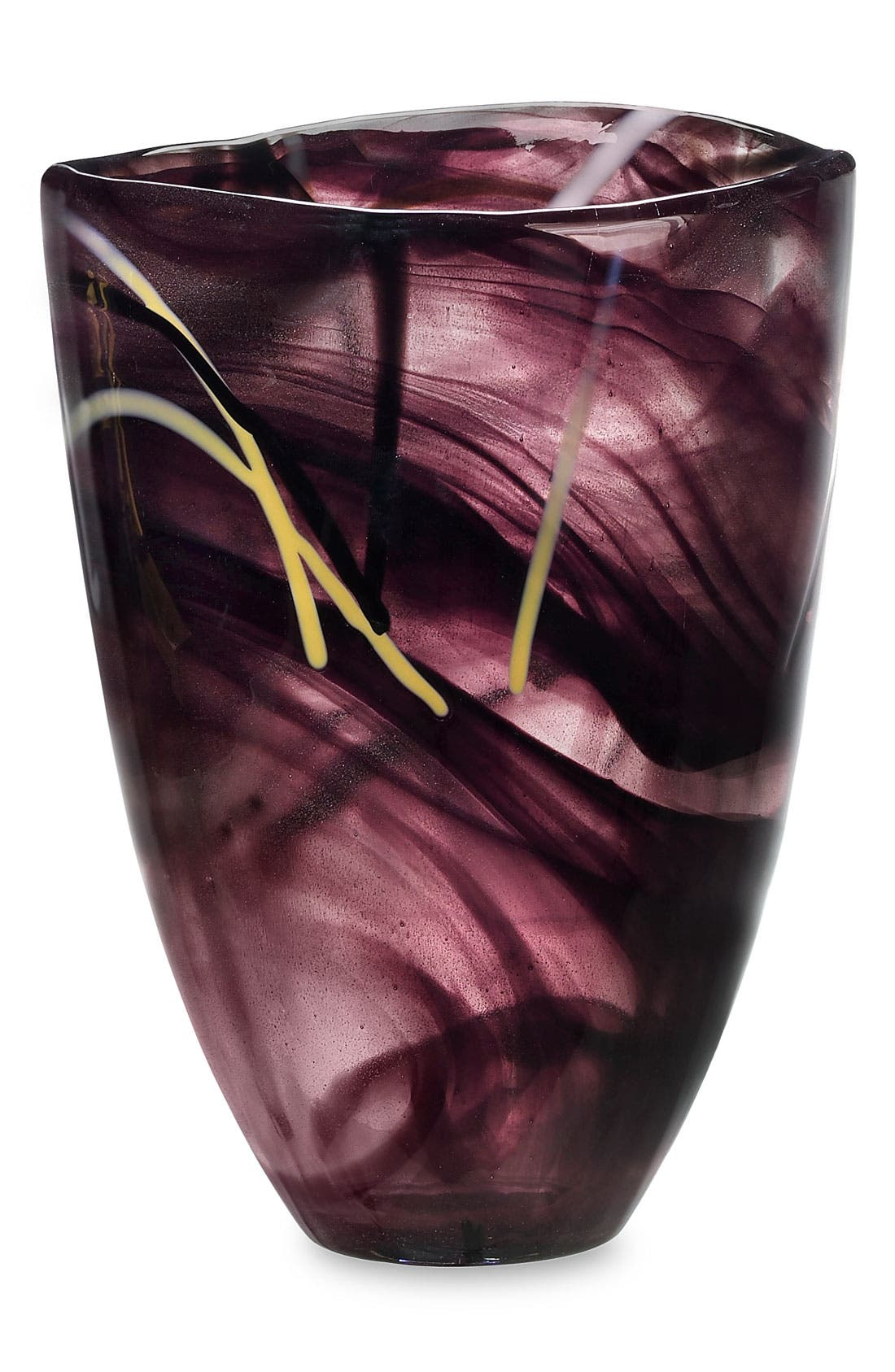 Alternate Image 1 Selected - Kosta Boda 'Contrast' Crystal Vase