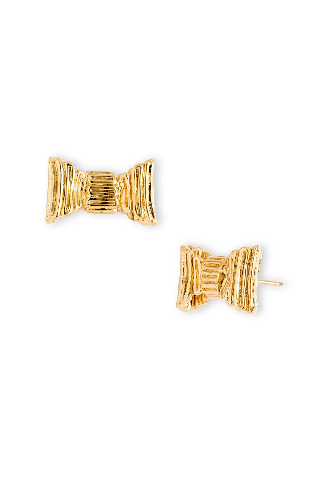 Main Image - kate spade new york 'all wrapped up' bow stud earrings