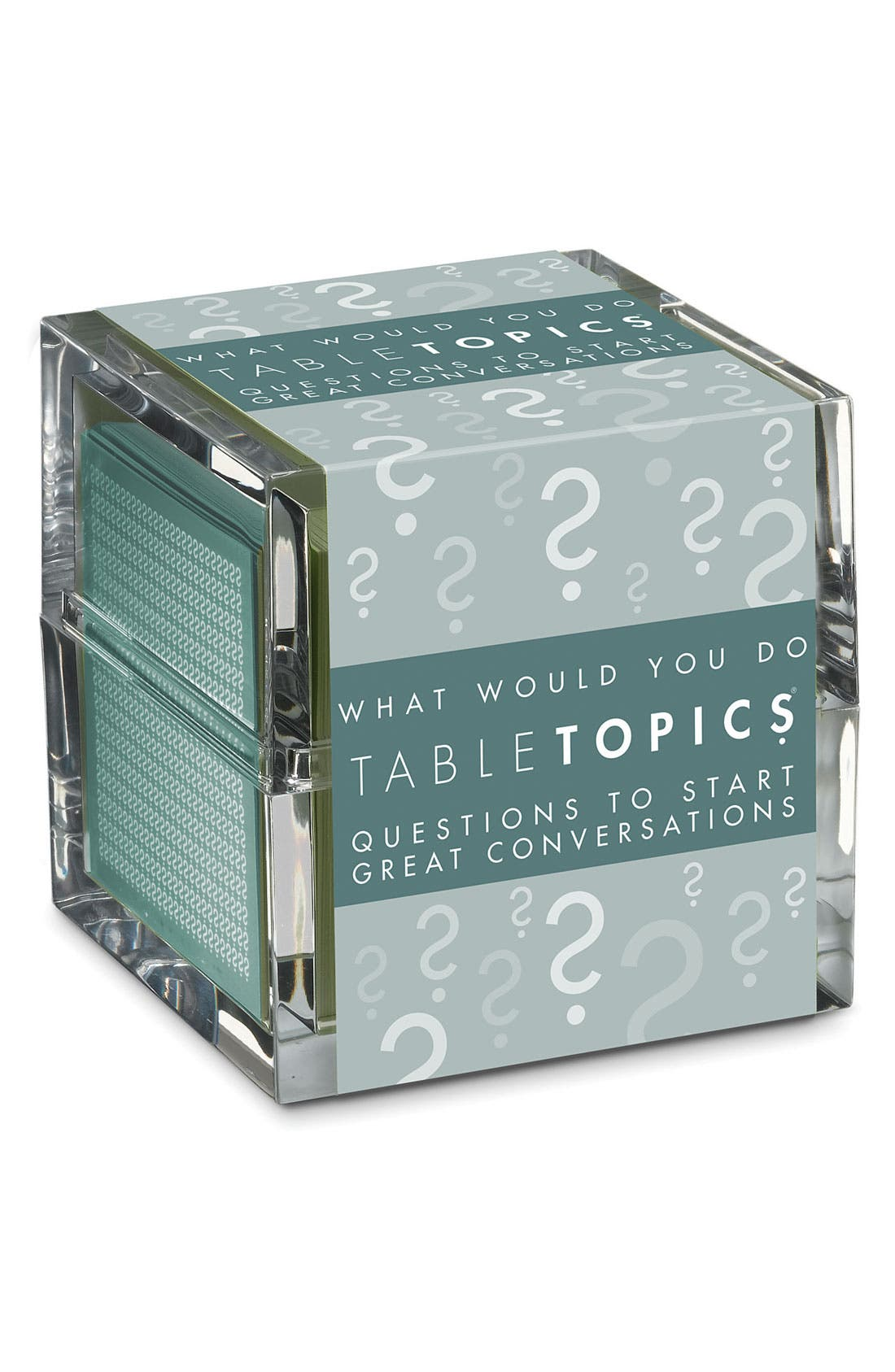Alternate Image 1 Selected - TableTopics 'What Would You Do?' Conversation Starters