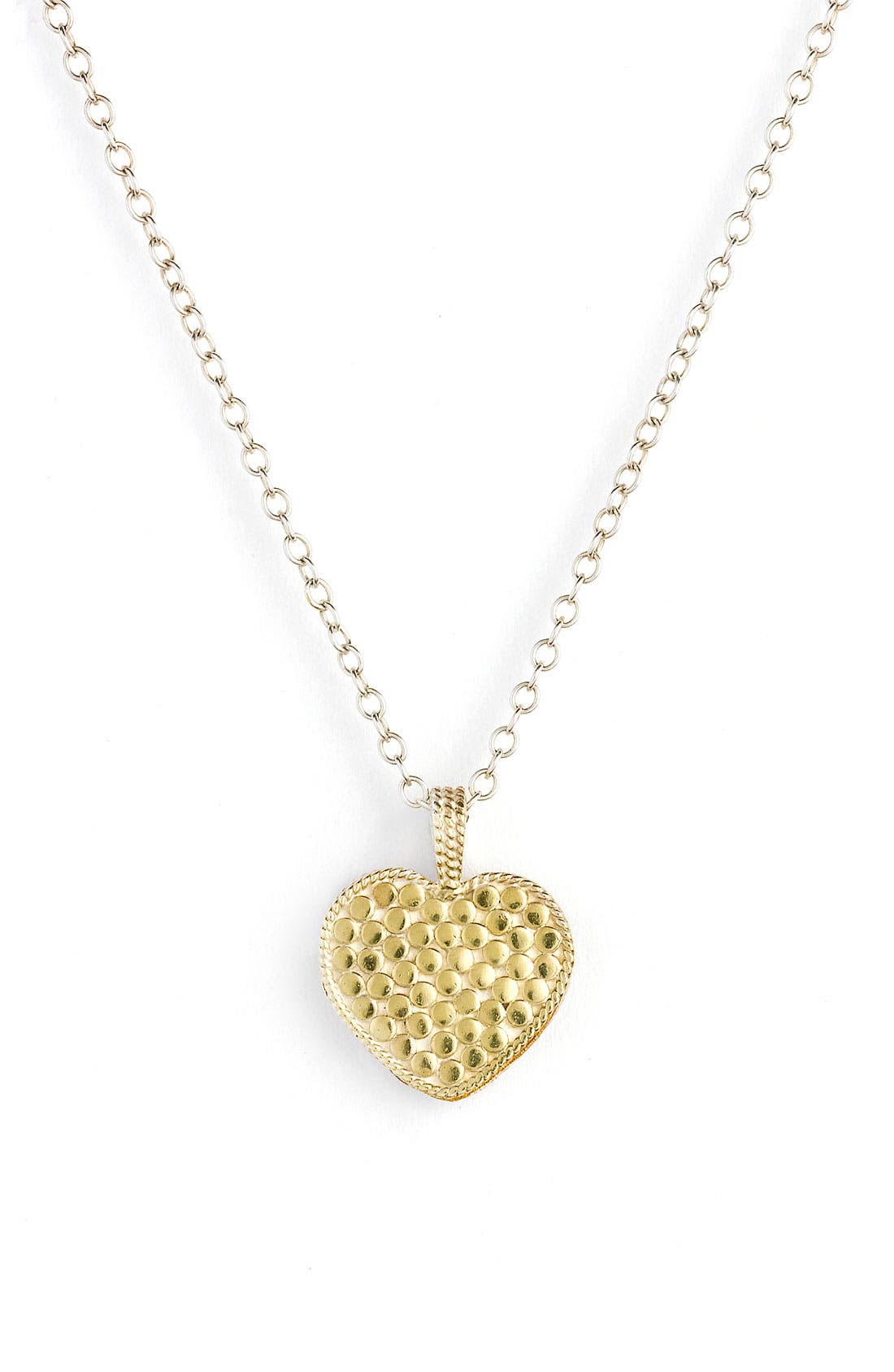 Alternate Image 1 Selected - Anna Beck 'Gili' Reversible Heart Pendant Necklace