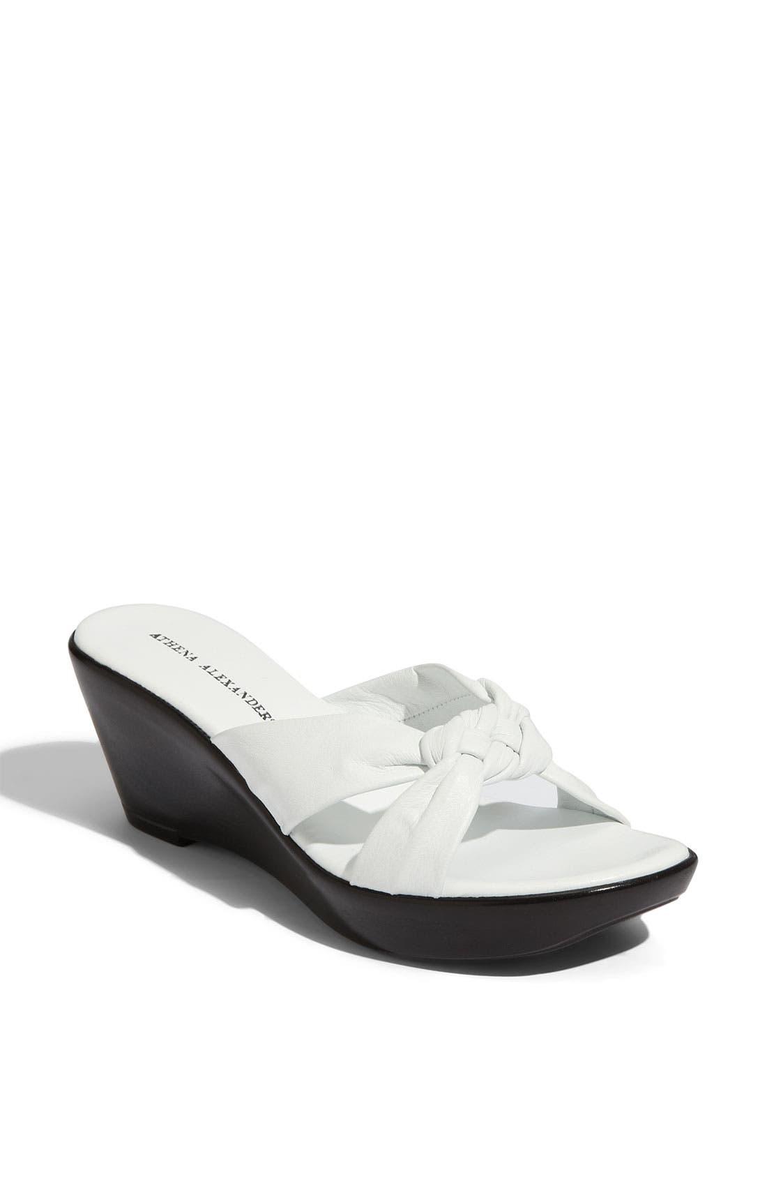 Alternate Image 1 Selected - Athena Alexander 'Diane' Wedge Sandal