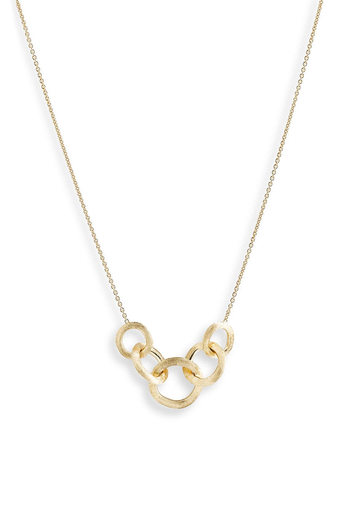 'Jaipur' Link Necklace,                         Main,                         color, Yellow Gold