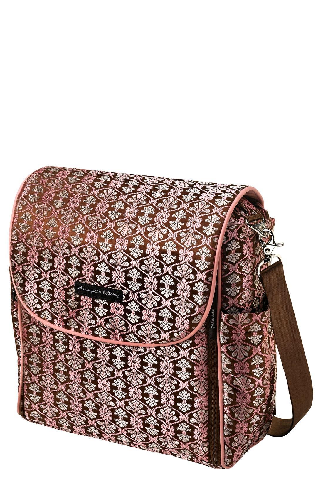 Main Image - Petunia Pickle Bottom Brocade 'Boxy Backpack' Diaper Bag