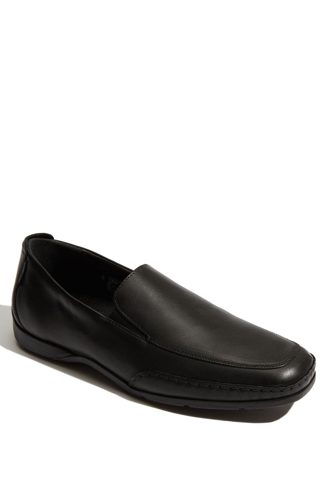 'Edlef' Slip-On,                             Main thumbnail 1, color,                             Black Smooth Leather