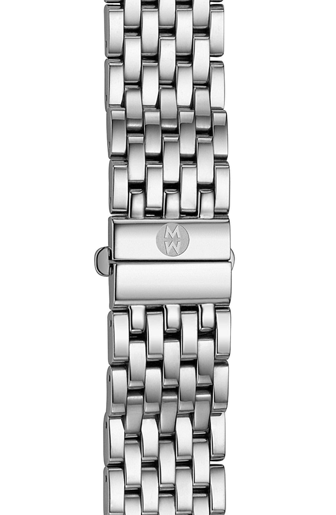 'Cloette Fleur' 16mm Watch Bracelet,                         Main,                         color, Silver