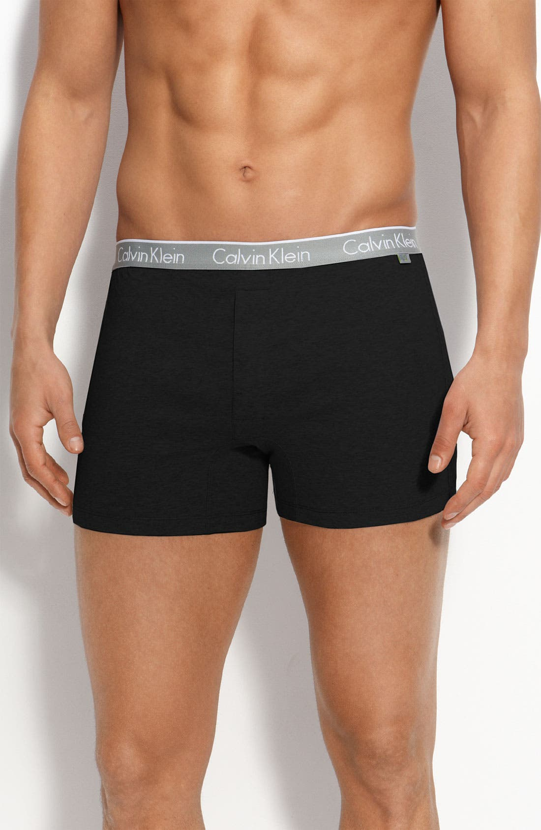 Alternate Image 1 Selected - Calvin Klein 'ck one - U8503' Stretch Cotton Boxer Shorts (Online Only)