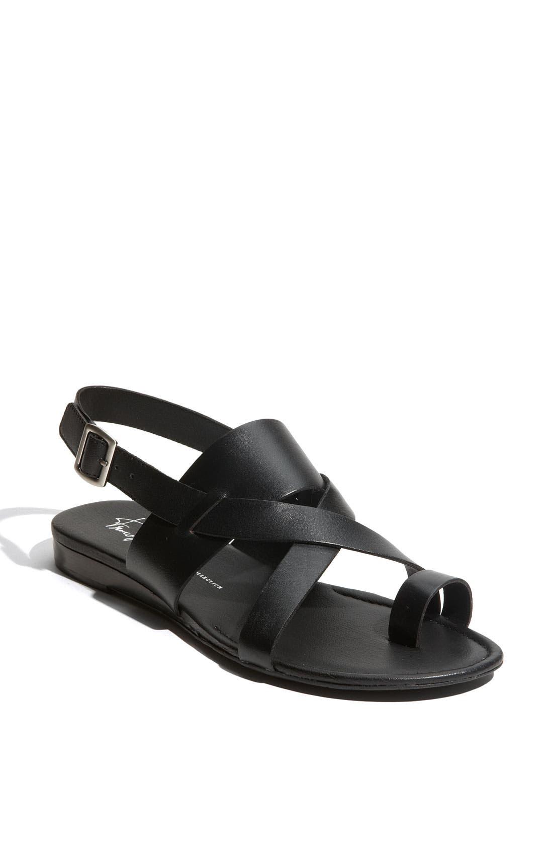 Gia Sandal,                         Main,                         color, Black Antanado