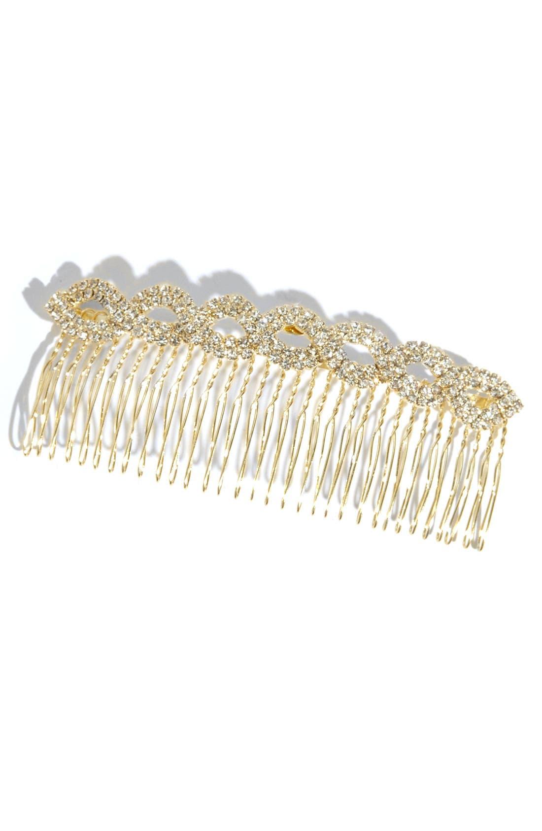 Main Image - Cara 'Infinity - Large' Hair Comb