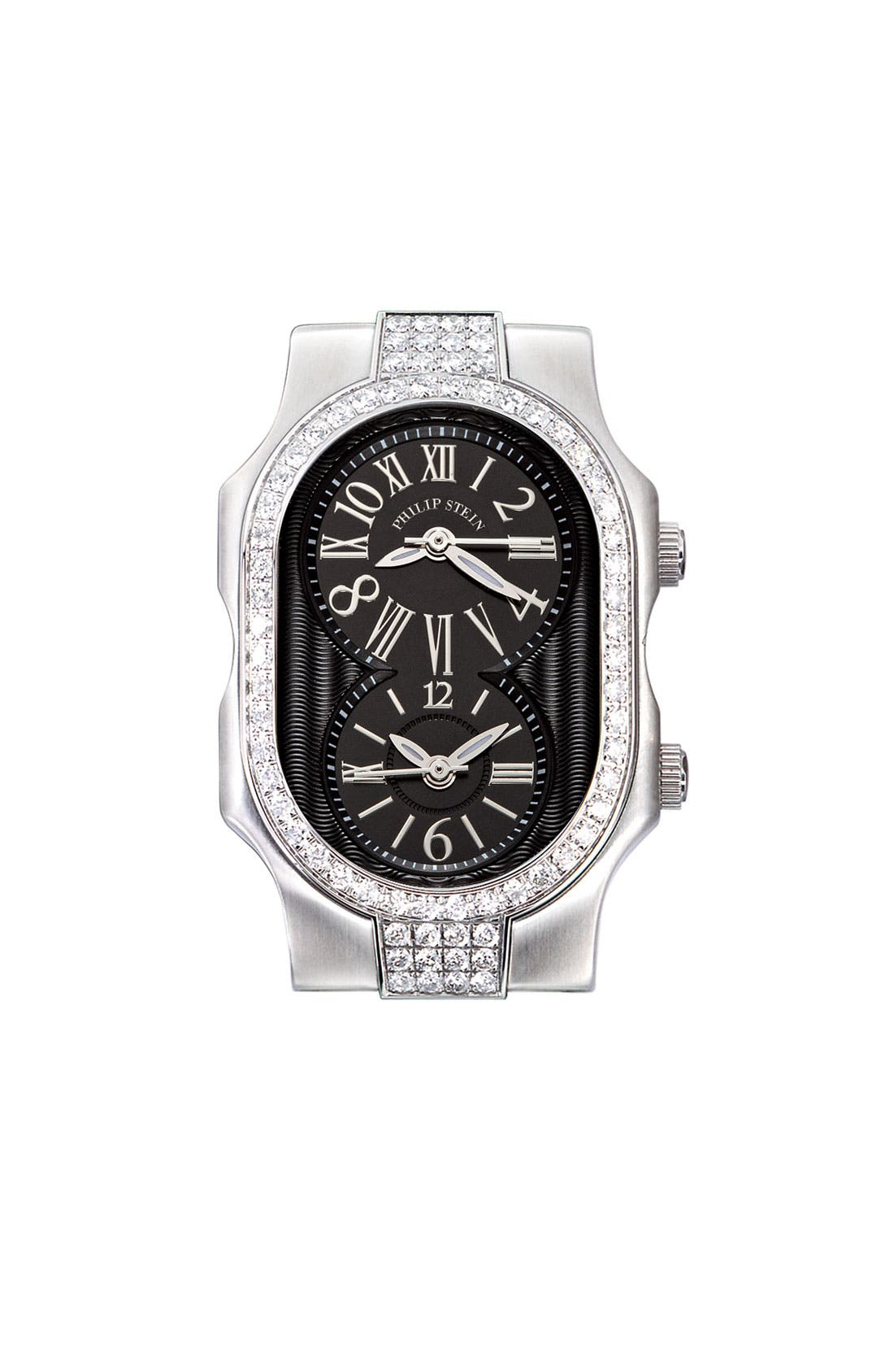 Alternate Image 1 Selected - Philip Stein® 'Signature' Small Double Diamond Bezel Watch Case