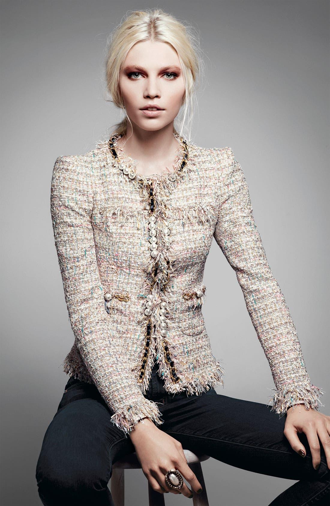 Alternate Image 3  - Mcginn 'Elizabeth' Metallic Bouclé Jacket