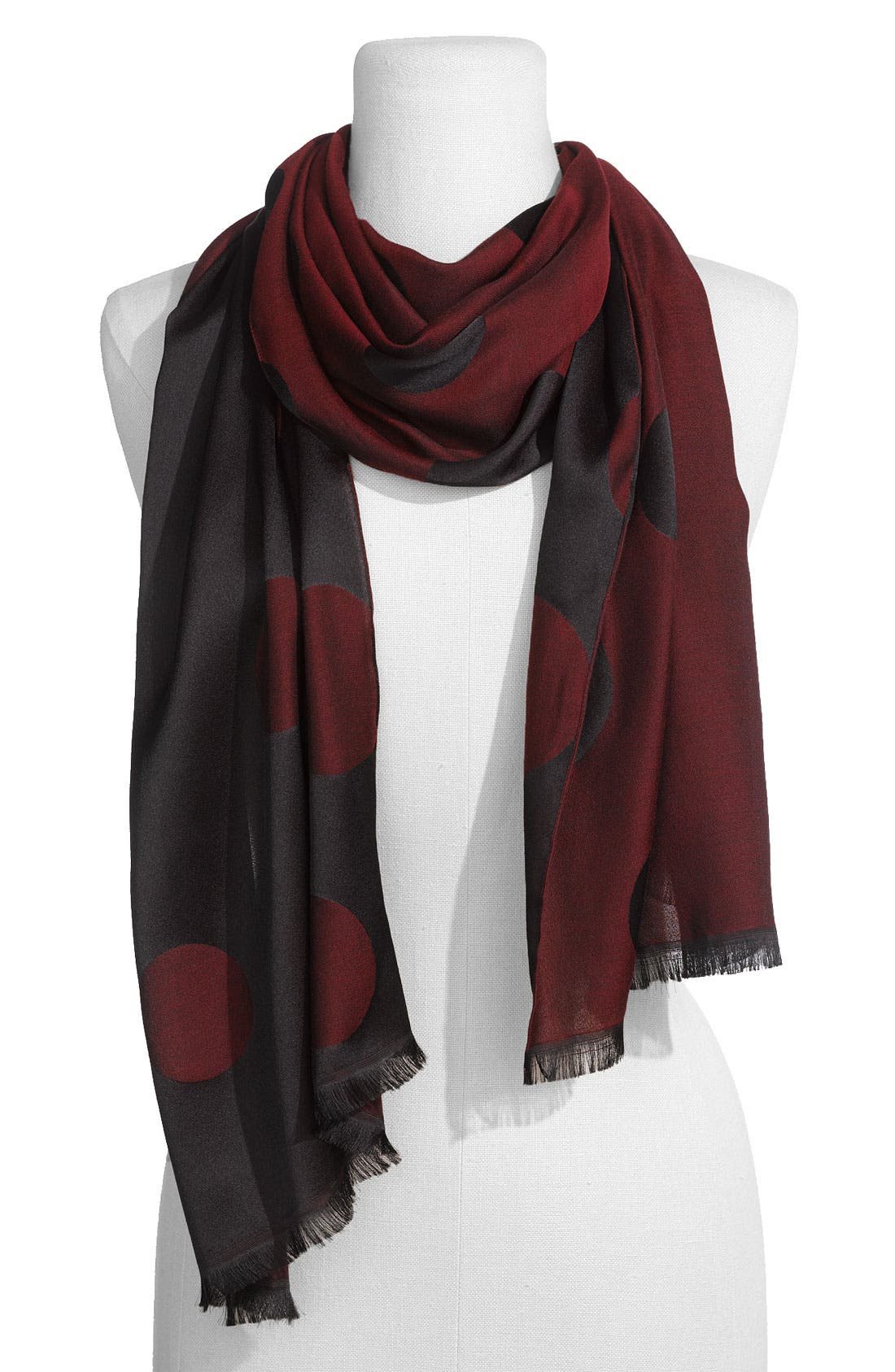 Alternate Image 1 Selected - Nordstrom 'Dots' Reversible Scarf