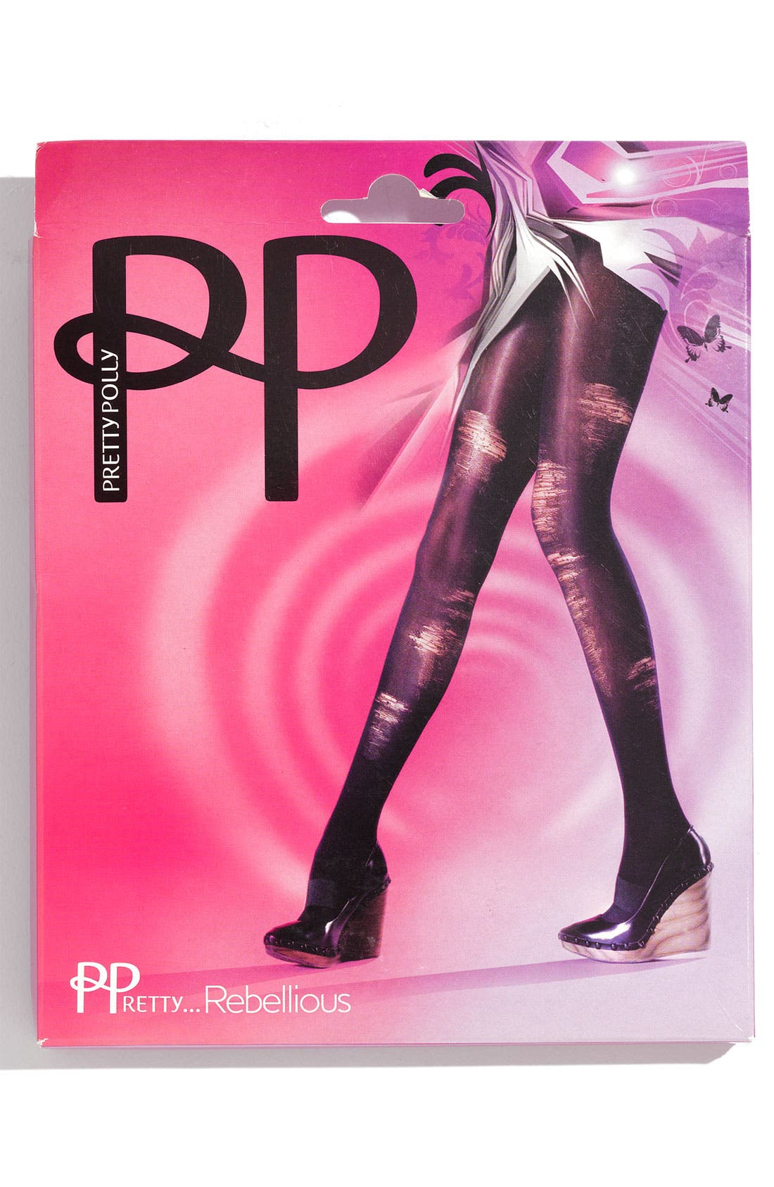 Alternate Image 2  - Pretty Polly Shredded Tights