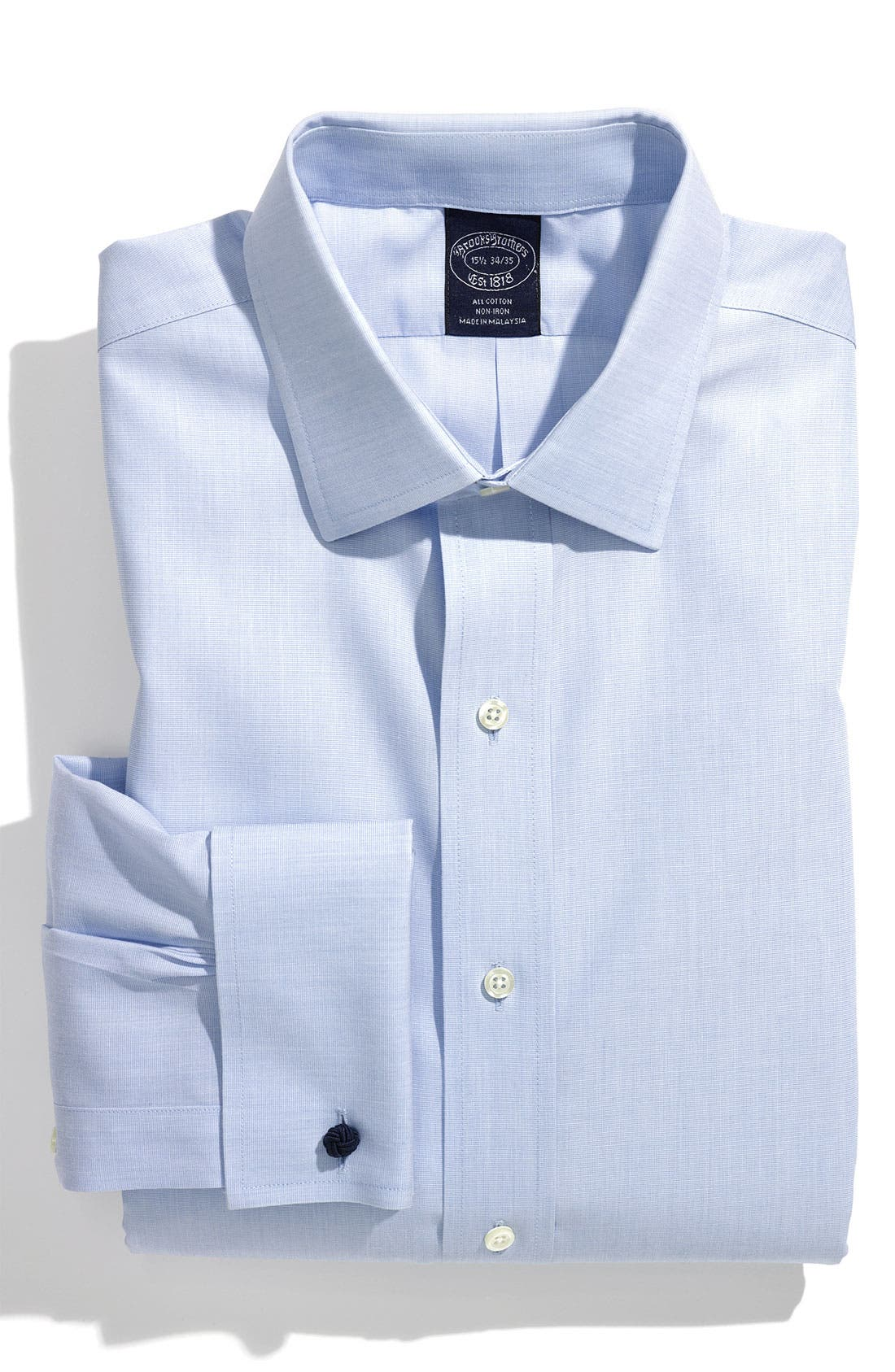 Alternate Image 1 Selected - Brooks Brothers Regular Fit Non-Iron Dress Shirt