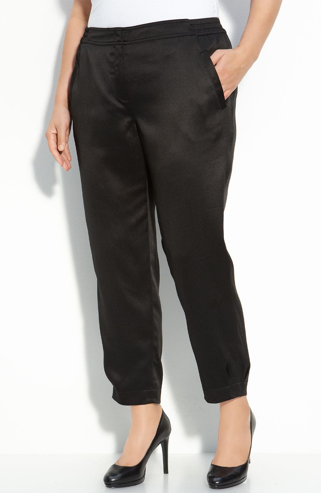 Alternate Image 1 Selected - Sejour Ankle Pants (Plus Size)