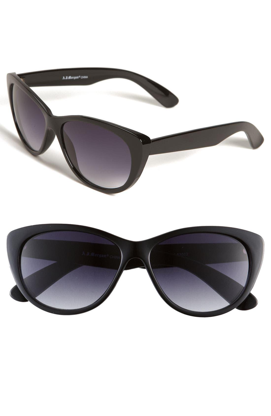Main Image - A.J. Morgan 'Lana' 57mm Sunglasses