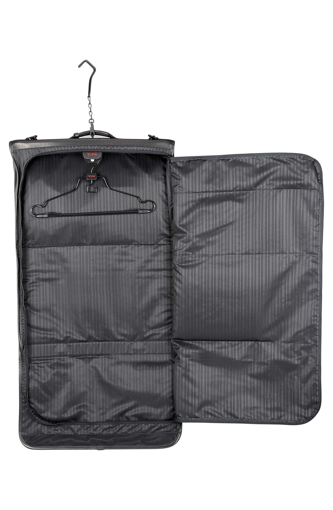 Alternate Image 3  - Tumi Trifold Carry On Leather Garment Carrier
