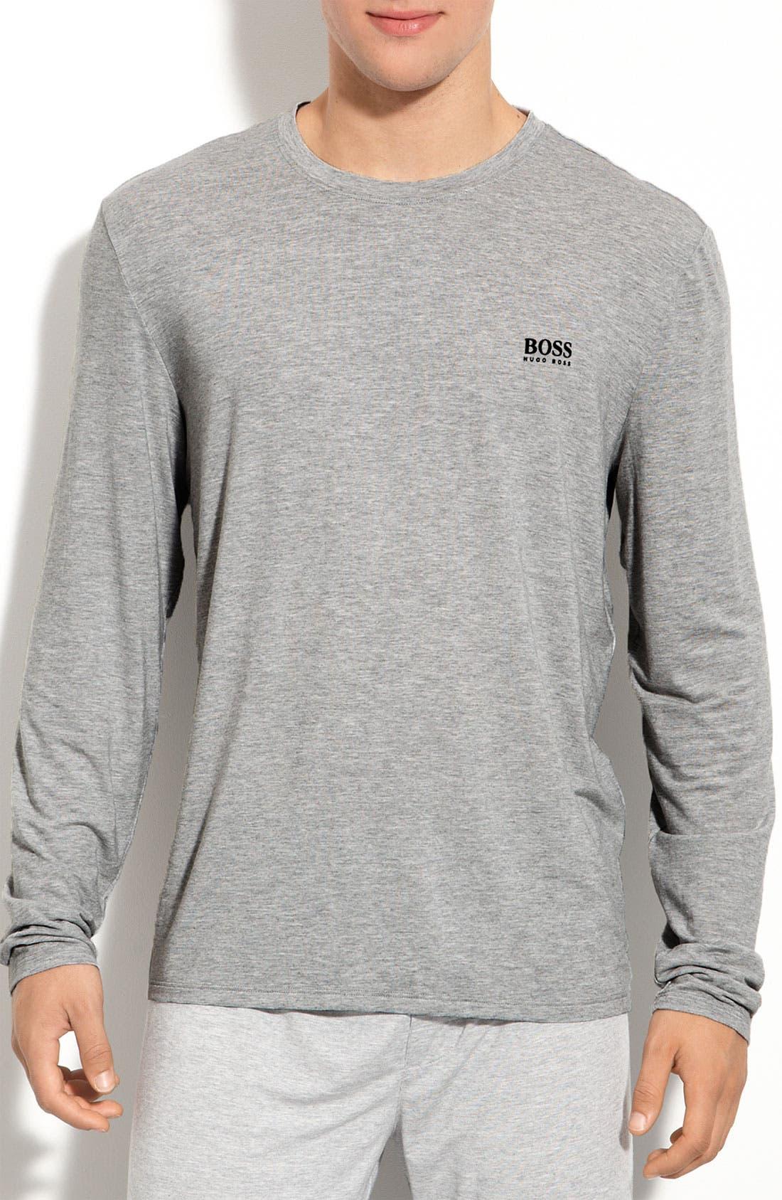 Alternate Image 1 Selected - BOSS 'Innovation 5' Lounge Shirt
