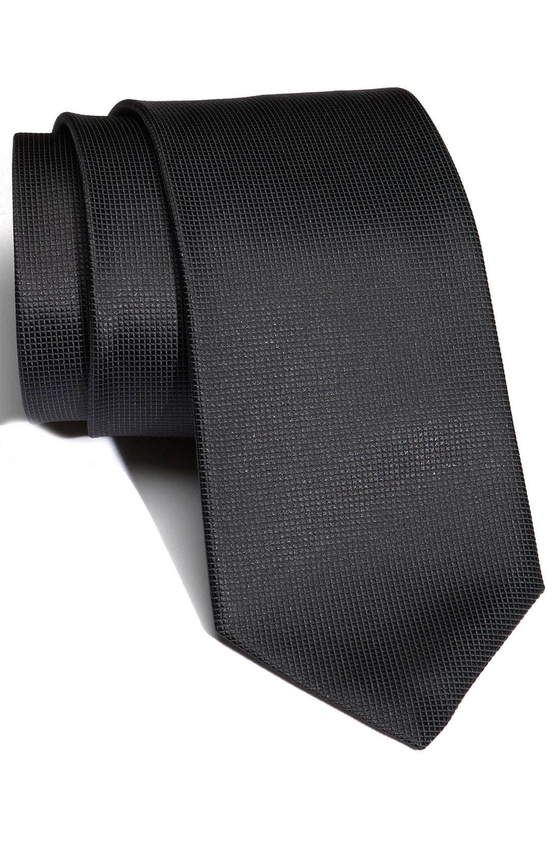 Main Image - BOSS Woven Silk Tie