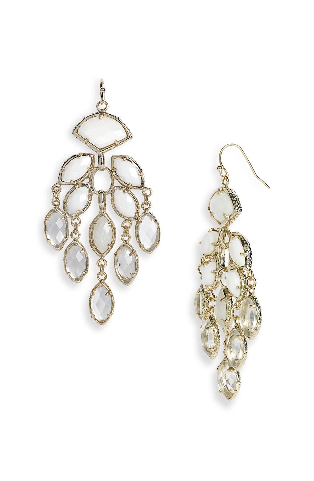 Main Image - Kendra Scott 'Gwen' Large Chandelier Earrings