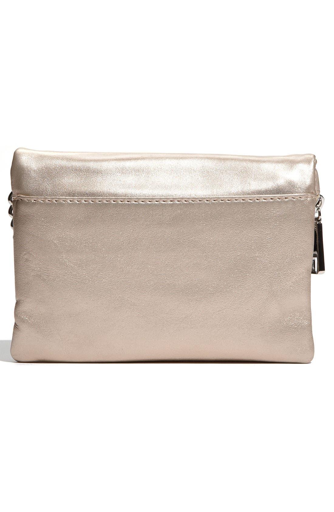 Alternate Image 4  - Hobo 'Daria' Metallic Leather Crossbody Bag