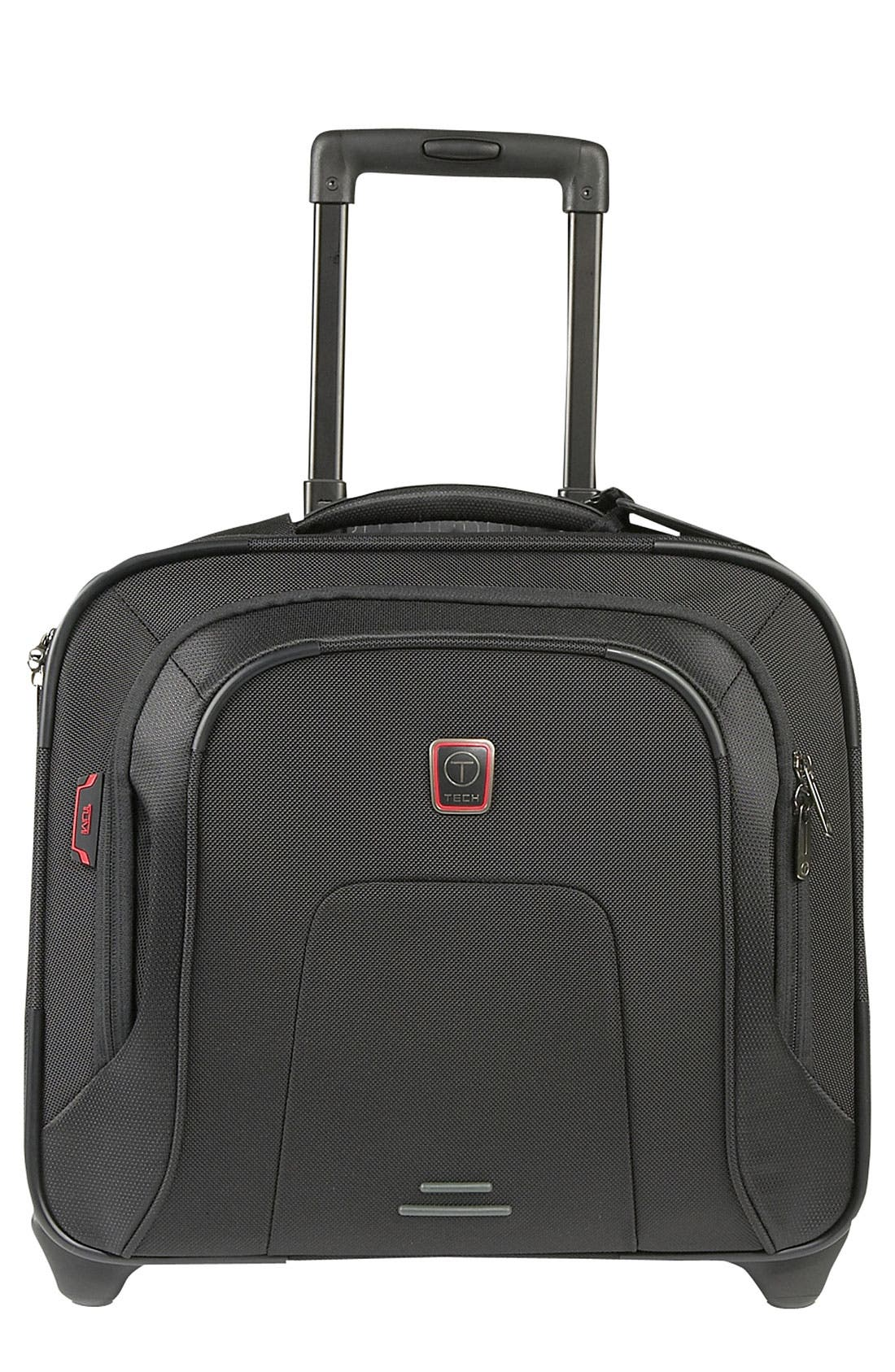 Main Image - T-Tech by Tumi 'Presidio MacArthur' Wheeled Compact Laptop Briefcase