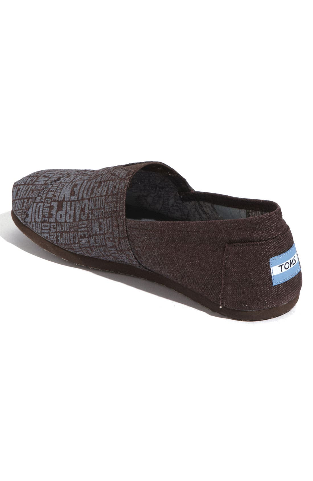 Alternate Image 3  - TOMS 'Classic - Print' Canvas Slip-On (Men)