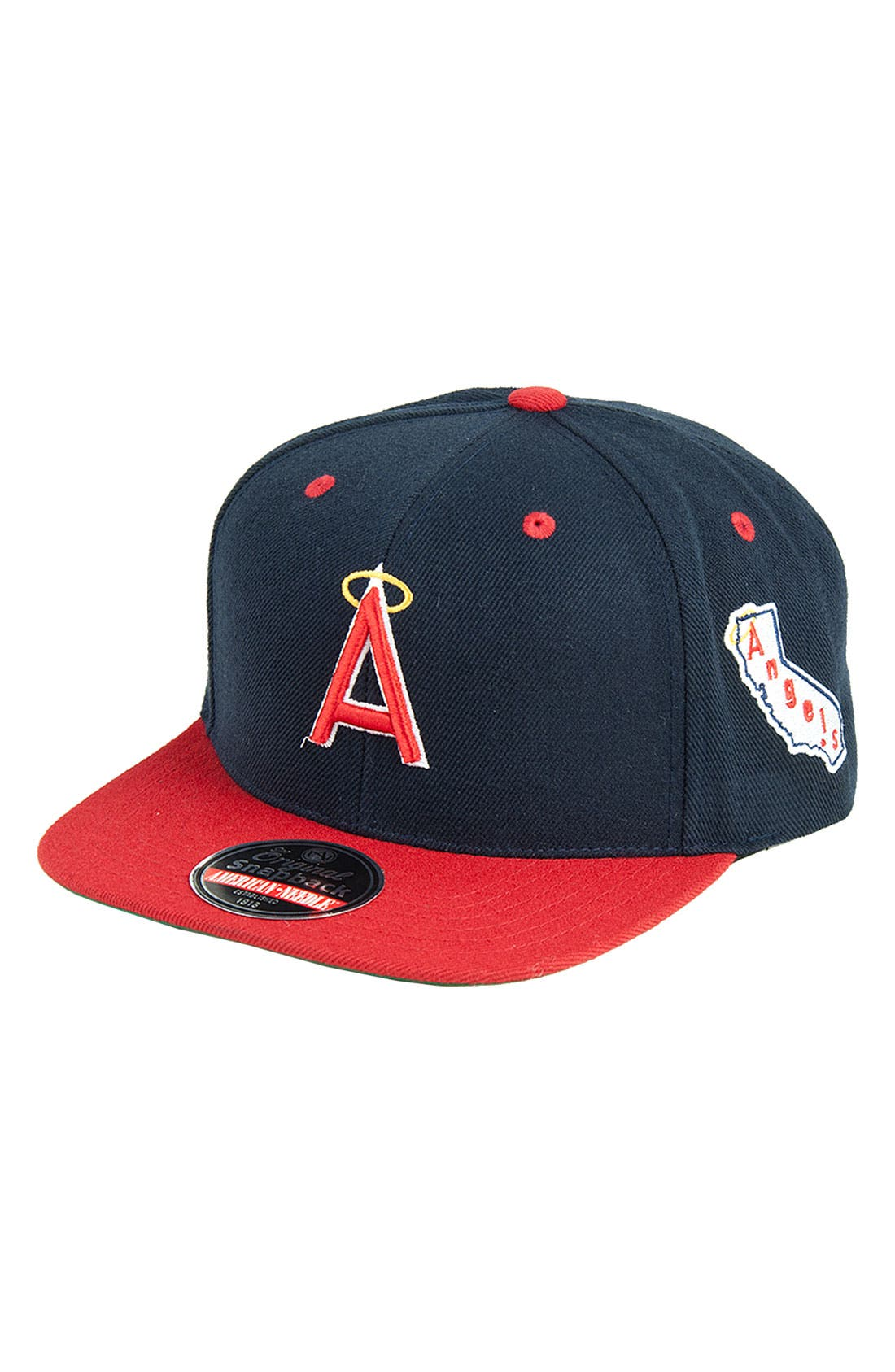 Alternate Image 1 Selected - American Needle 'Blockhead Angels' Snapback Baseball Cap