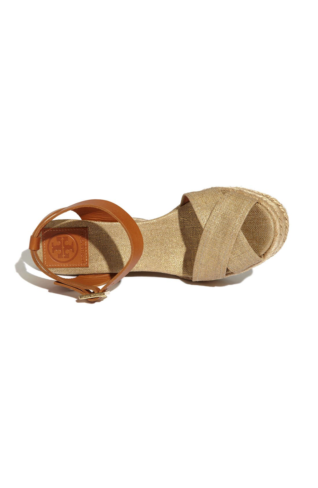 Alternate Image 3  - Tory Burch Criss Cross Sandal