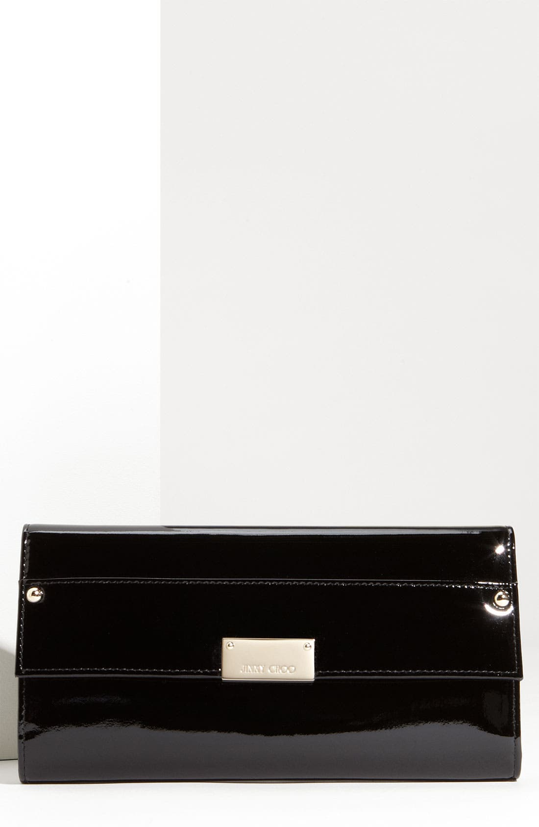 Main Image - Jimmy Choo 'Reese' Patent Leather Clutch