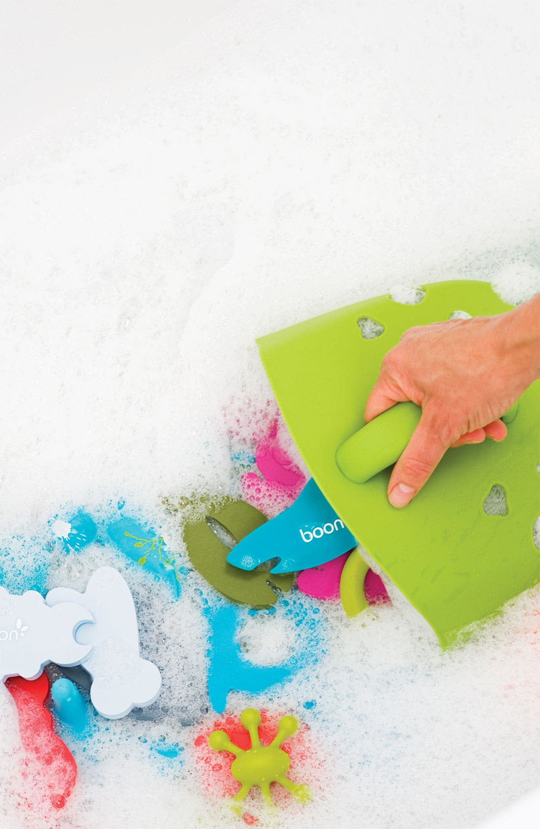 Alternate Image 4  - Boon Bath 'Scoop Drain' Toy Storage