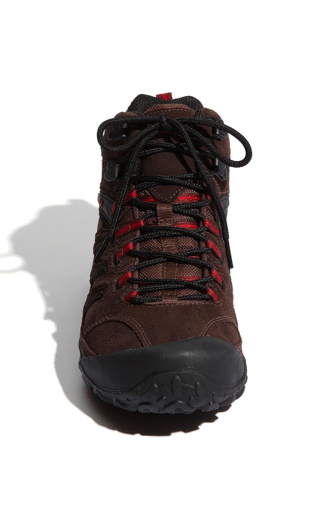 Alternate Image 2  - Merrell 'Chameleon 4 Mid Ventilator GORE-TEX®' Hiking Boot