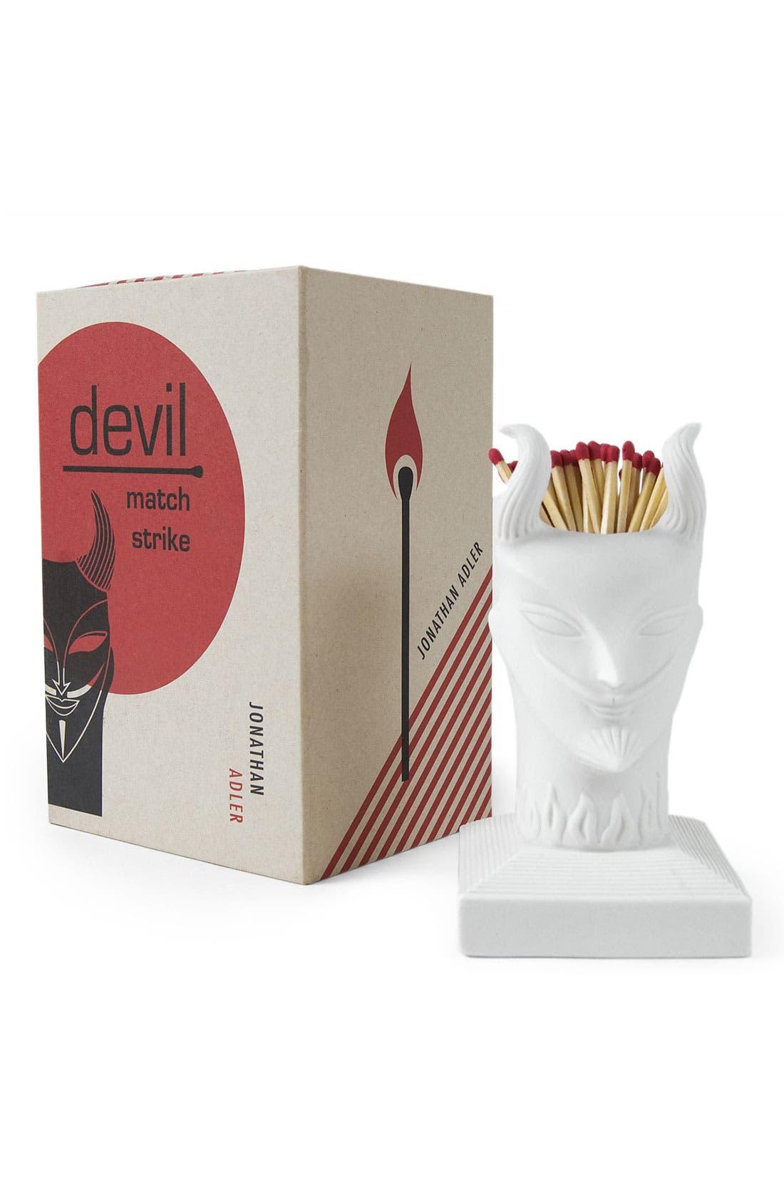 Alternate Image 1 Selected - Jonathan Adler 'Devil' Porcelain Match Strike