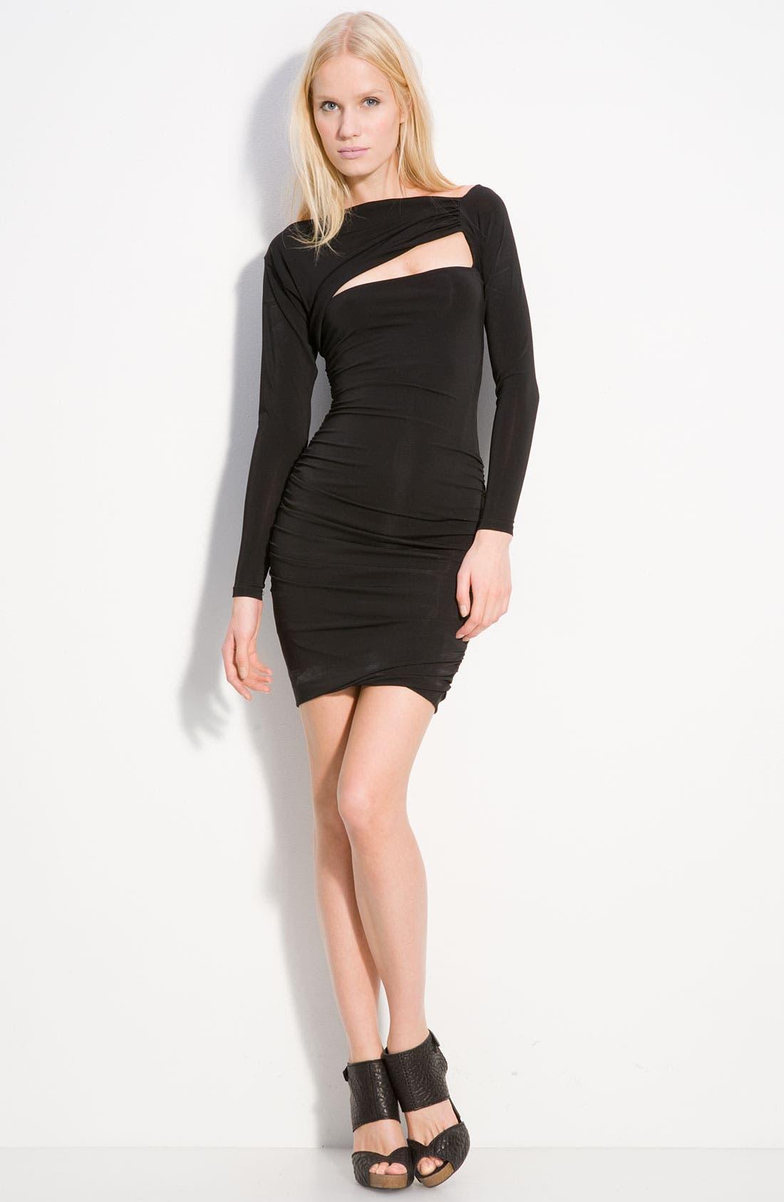 Alternate Image 1 Selected - Pierre Balmain Cutout Jersey Dress