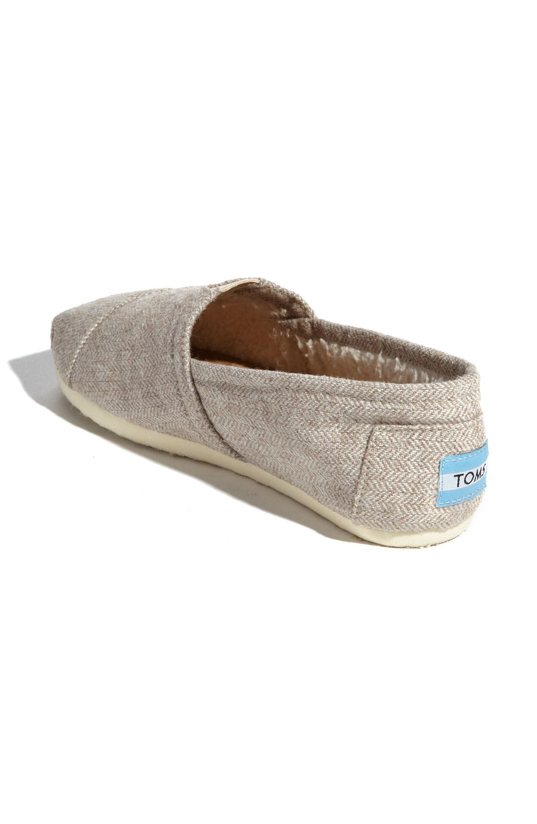 Alternate Image 2  - TOMS Herringbone Fleece Slip-On (Women) (Exclusive)