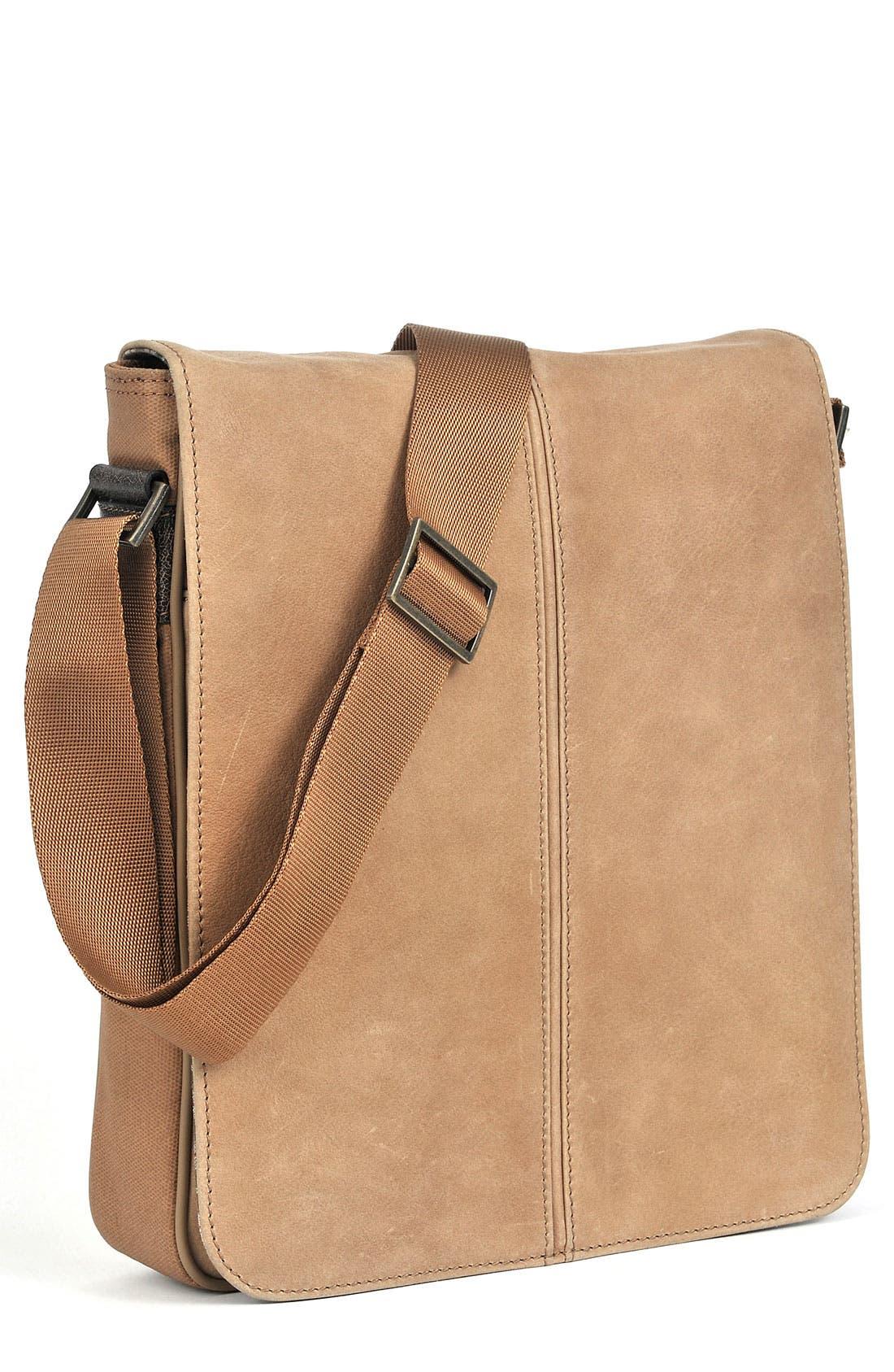 Alternate Image 1 Selected - Boconi 'Leon Mailbag' Calfskin Leather Crossbody Bag