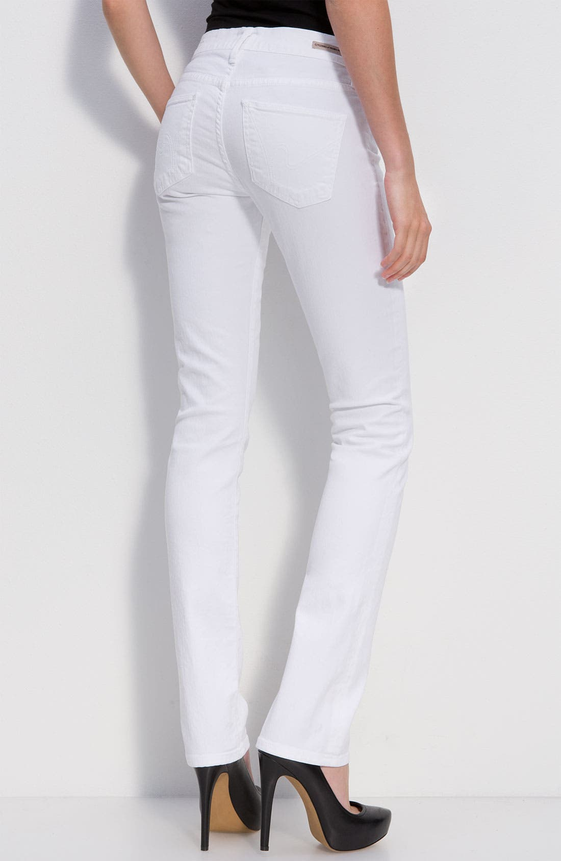 Alternate Image 1 Selected - Citizens of Humanity 'Elson' Straight Leg Jeans (Santorini Wash)