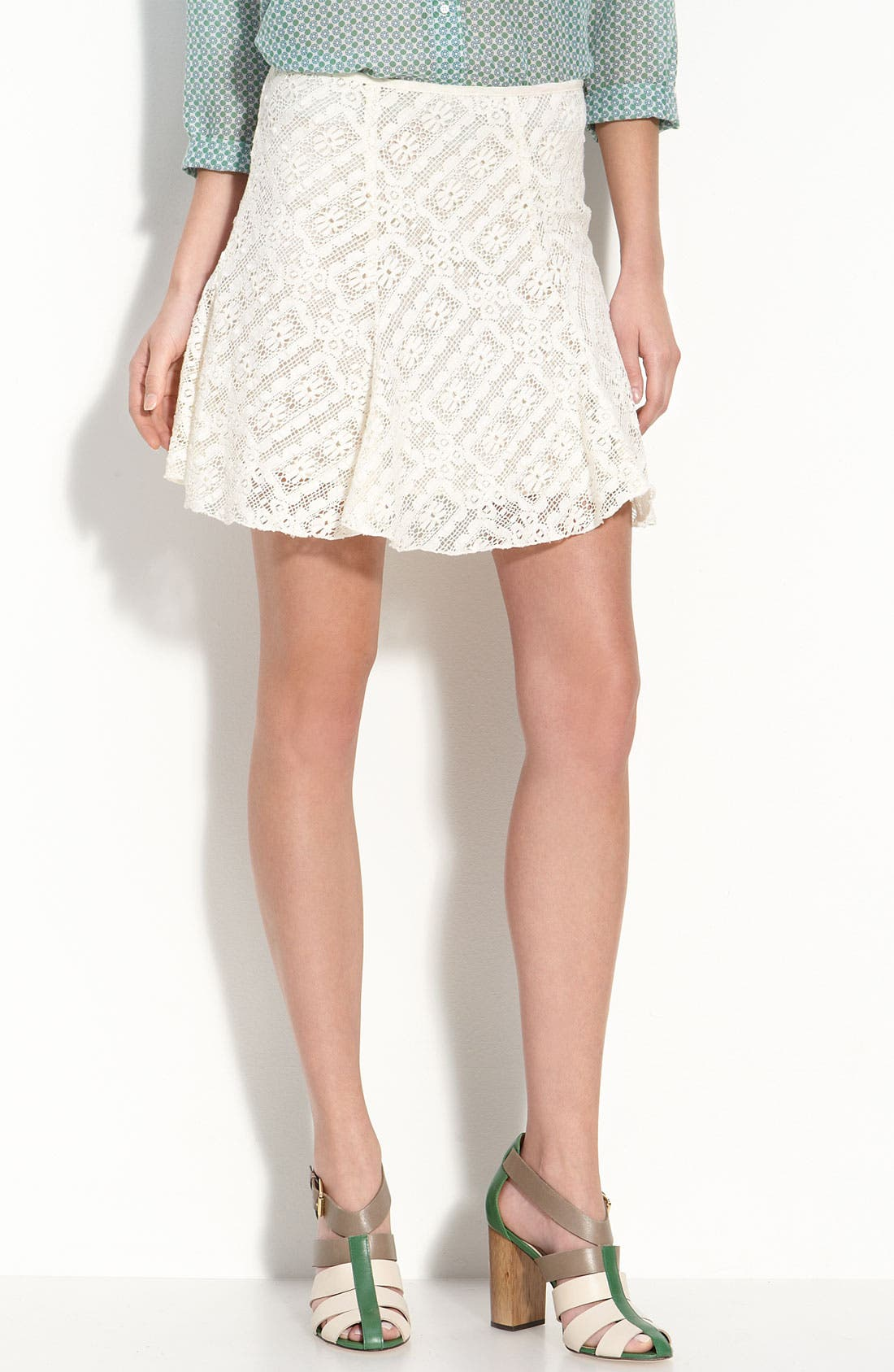 Main Image - TEXTILE Elizabeth and James 'Darcy' Garden Lace Skirt