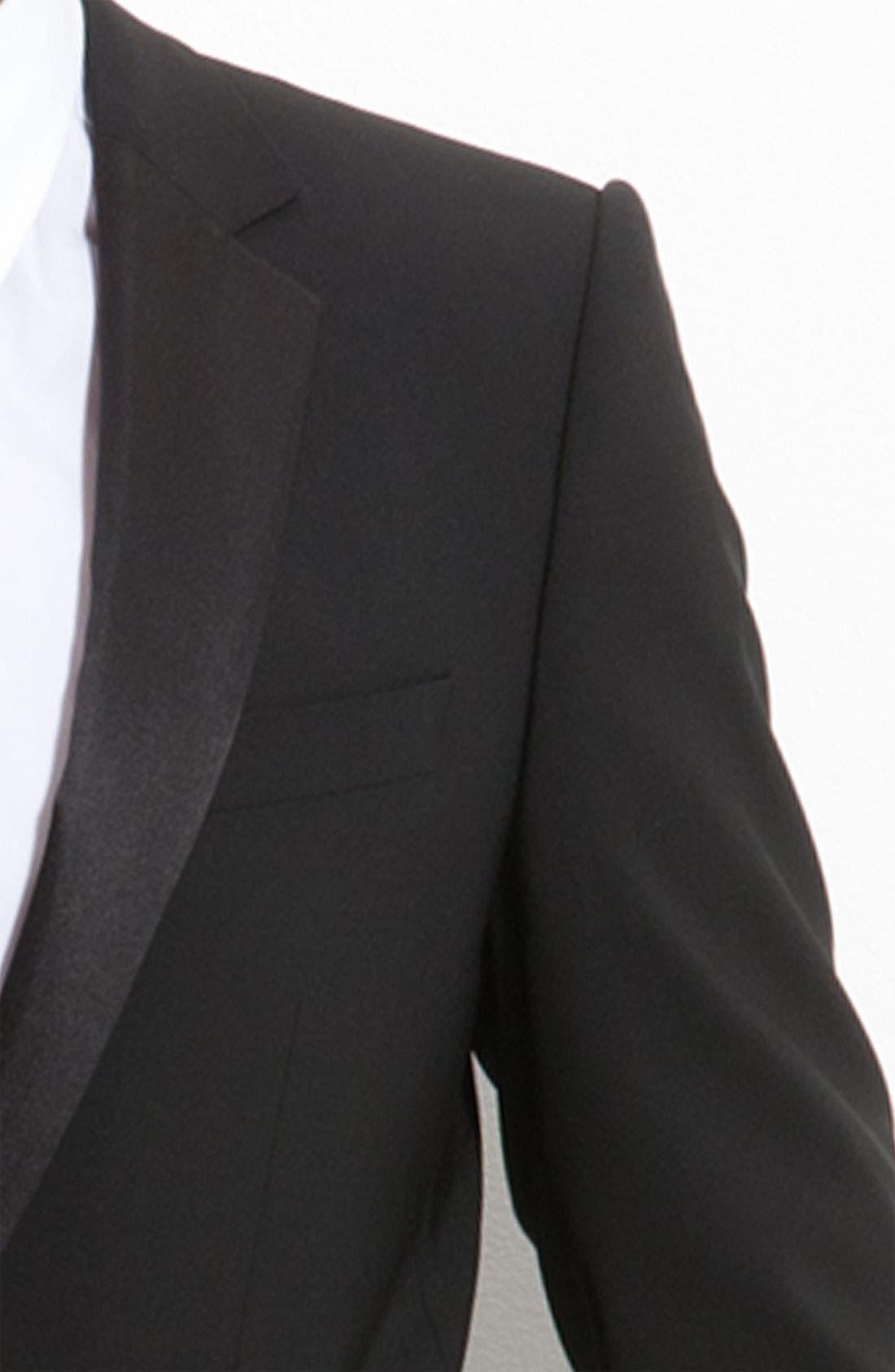 Alternate Image 3  - HUGO 'Aikin Hollo' Trim Fit Wool Tuxedo
