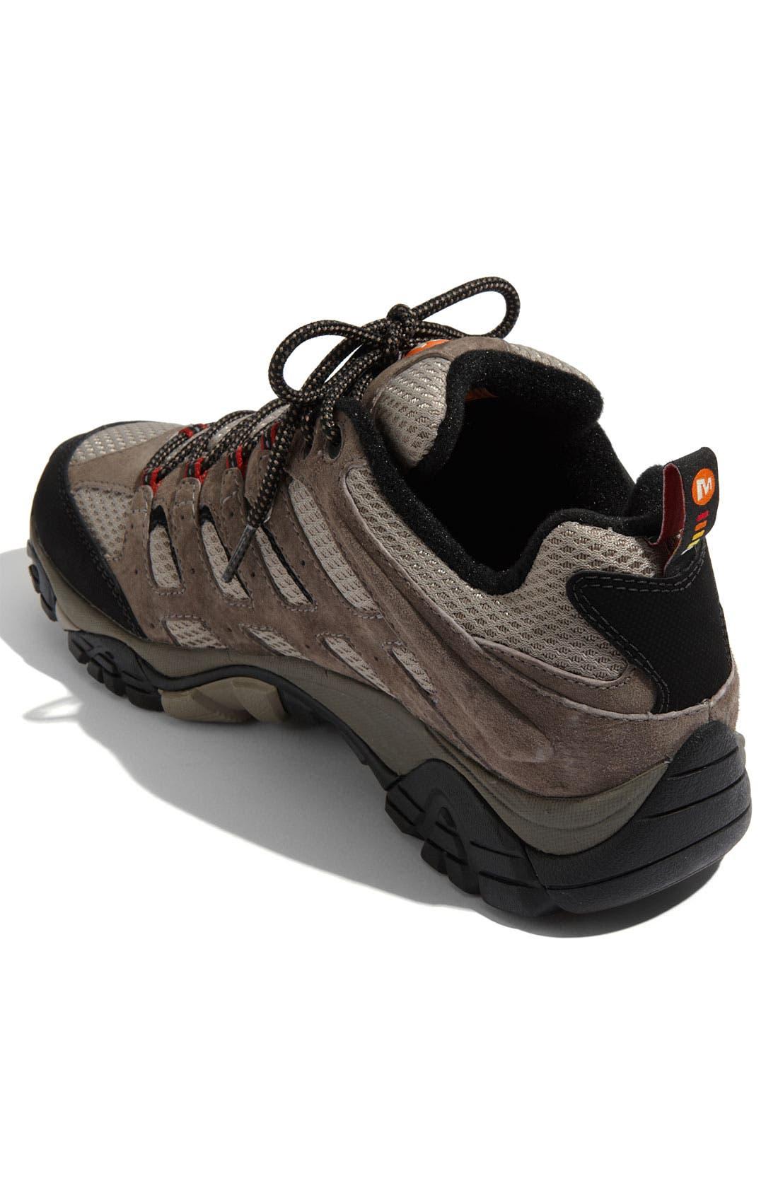 Alternate Image 2  - Merrell 'Moab' Waterproof Hiking Shoe (Men)