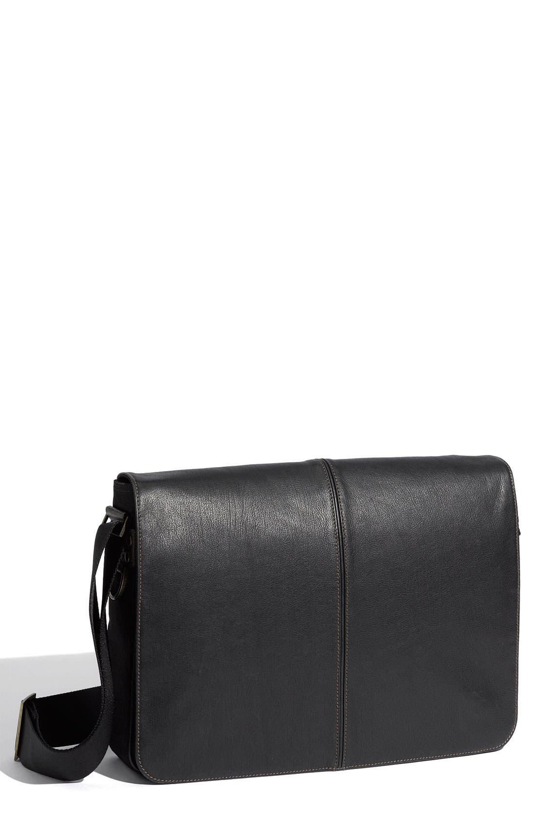 Alternate Image 1 Selected - Boconi 'Leon Slim Mailbag' Messenger Bag